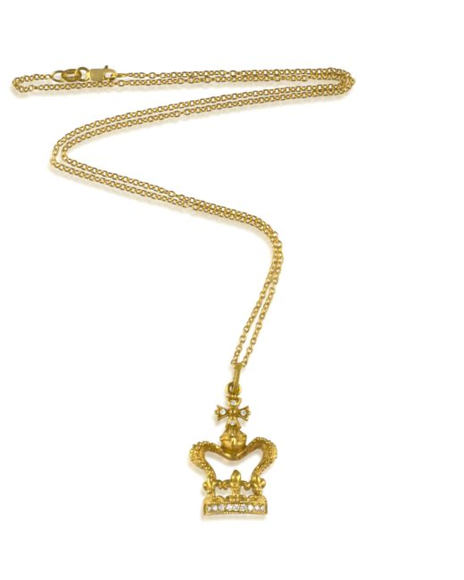 Arman Sarkisyan   Metallic Crown Pendant   Lyst