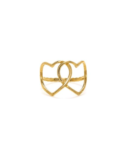 Bing Bang | Yellow Loved Up Ring | Lyst