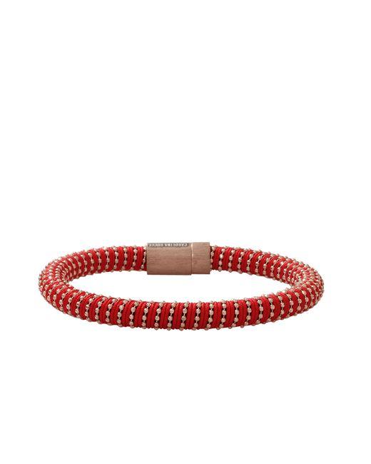 Carolina Bucci | Red Twister Bracelet Yellow Gold | Lyst