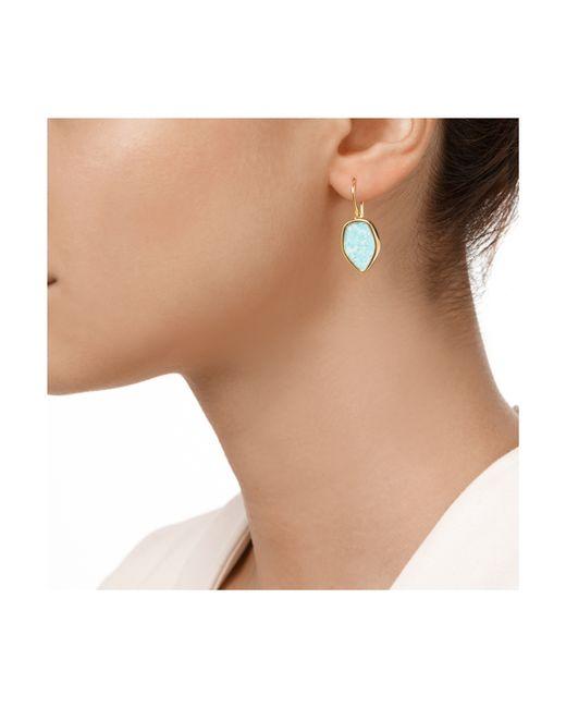 Monica Vinader | Metallic Atlantis Flint Drop Earrings | Lyst