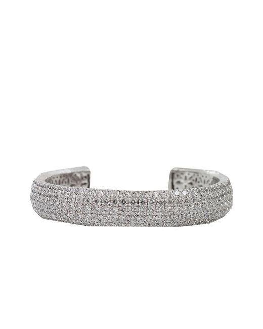 Fantasia Jewelry | Metallic Small Pave Cuff | Lyst