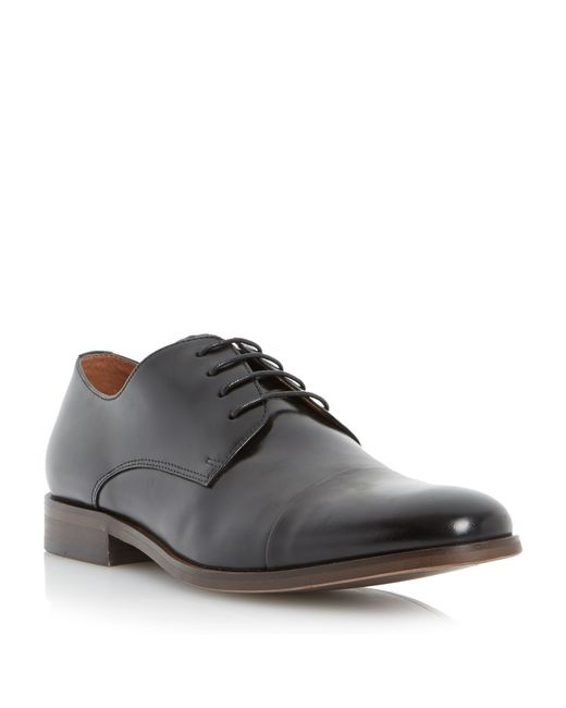 Dune | Black Rogan Formal Gibson Shoe for Men | Lyst