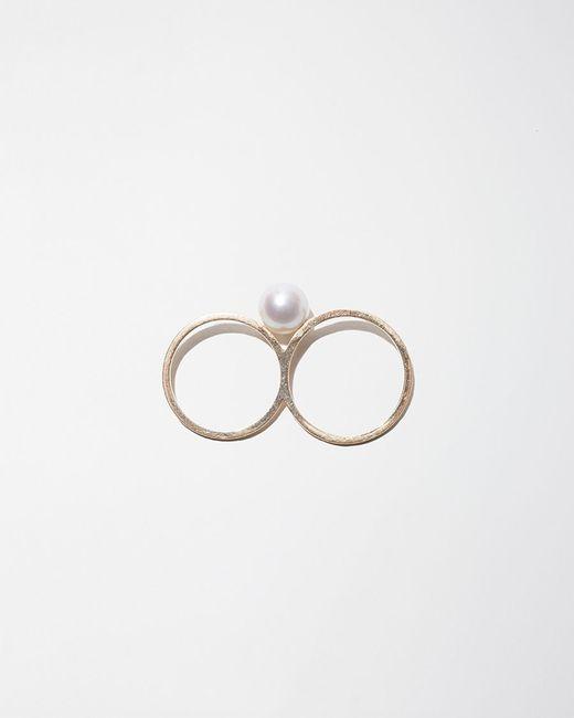 Sophie Bille Brahe | Metallic Double De Perle Ring | Lyst