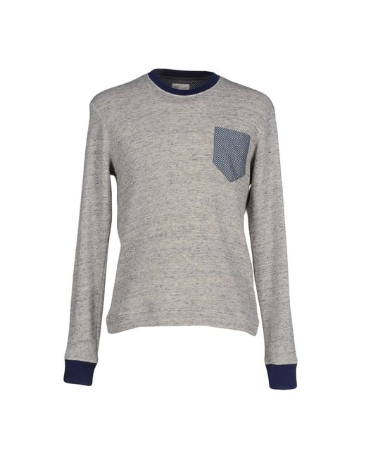 Obvious Basic | Gray Sweatshirt for Men | Lyst