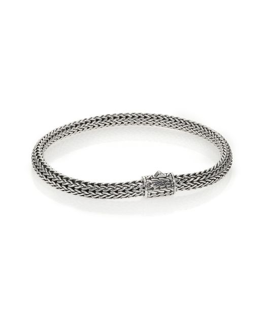 John Hardy | Metallic Classic Chain Sterling Silver Extra-small Bracelet | Lyst