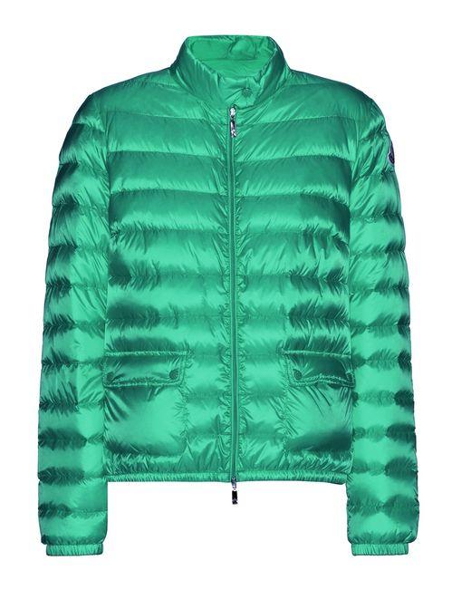 Moncler | Green 'lans' Padded Jacket | Lyst