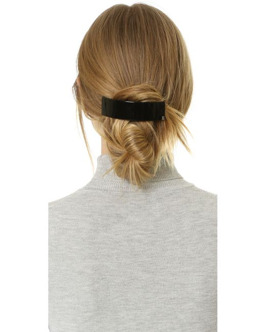 Alexandre De Paris Thick Hair Clip In Brown Save 11 Lyst