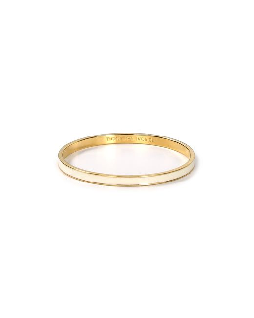 Kate Spade | Natural Tickle The Ivories Idiom Bangle | Lyst