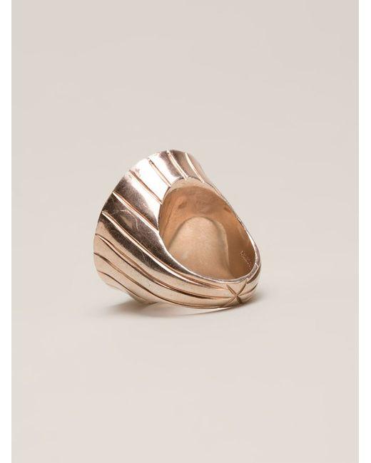 Amedeo   Metallic Angel Ring   Lyst