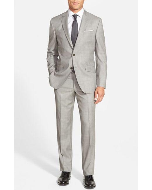 Ted Baker | Gray Jones Trim Fit Wool Suit for Men | Lyst