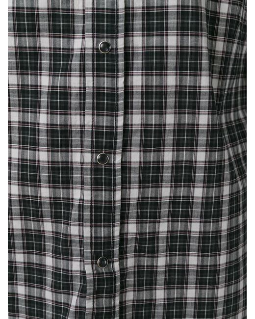 DIESEL | White Checked Shirt for Men | Lyst