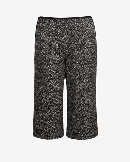 Ted Baker | Black Kimora Tweed Wide Leg Culottes | Lyst