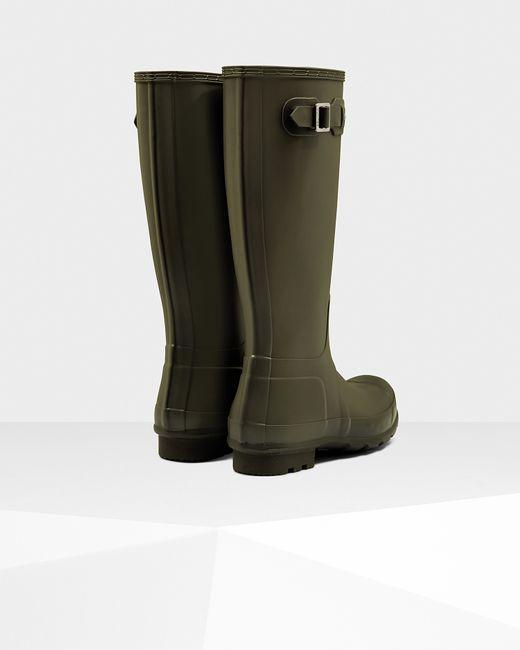 Hunter | Green Men's Original Tall Rain Boots for Men | Lyst