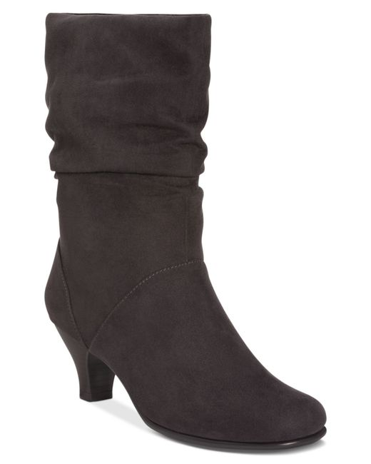 Aerosoles | Black Wise N Shine Slouch Boots | Lyst