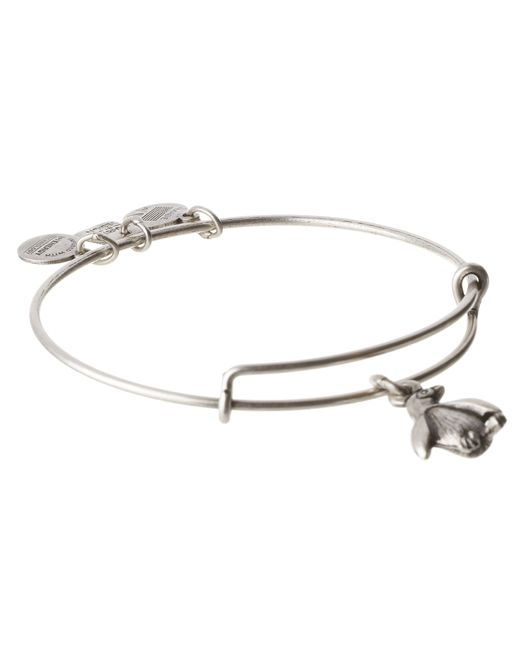 ALEX AND ANI | Metallic Penguin Charm Bangle | Lyst