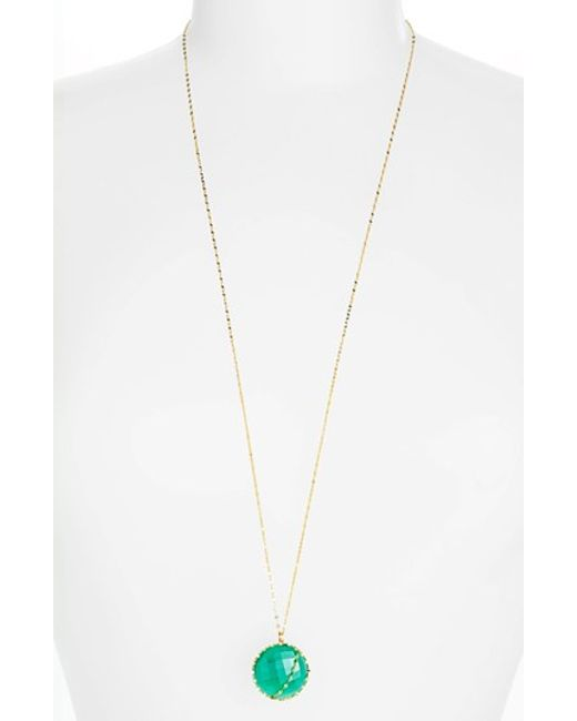 Lana Jewelry | Green 'spellbound - Glow' Pendant Necklace | Lyst
