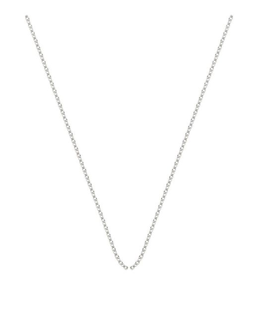 Monica Vinader | Metallic Adjustable Rolo Chain (32) | Lyst