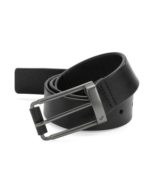 William Rast | Black Faux Leather Belt for Men | Lyst