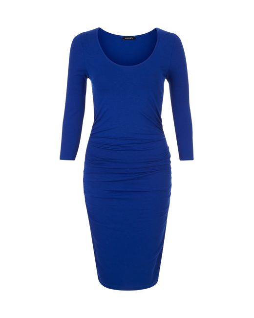 Baukjen | Blue Heath Ruched Dress | Lyst