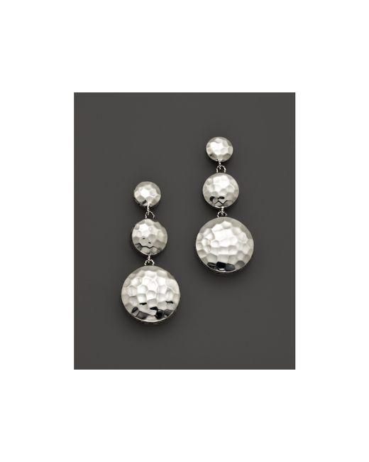 John Hardy | Metallic Palu Sterling Silver Triple Drop Linear Earrings | Lyst