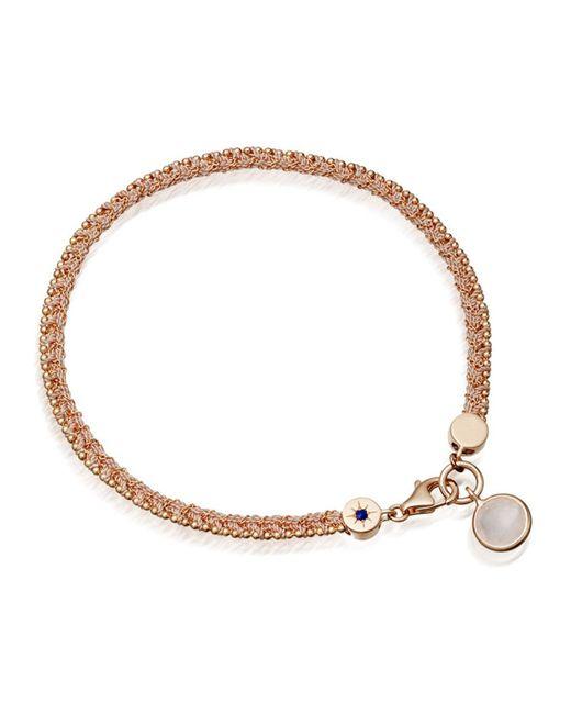 Astley Clarke | Metallic Planet Of Dreams Bracelet With Rose Quartz Charm | Lyst