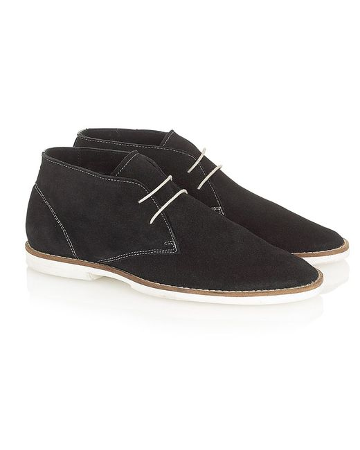 Frank Wright | Black Bridges Almond-toe Boots for Men | Lyst
