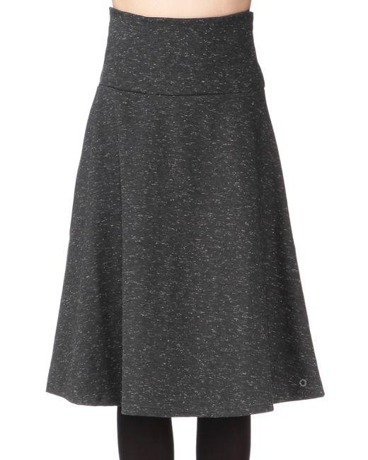 numph midi skirt maxi skirt in gray lyst