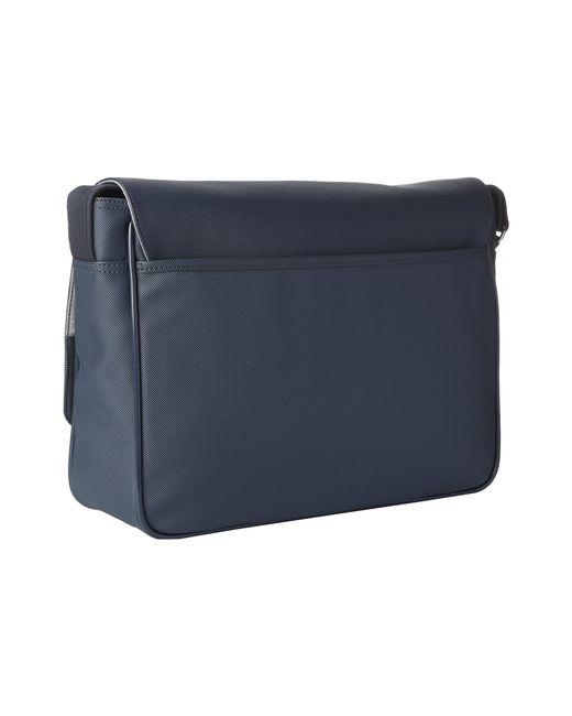 Lacoste   Black Classic Messenger Bag for Men   Lyst