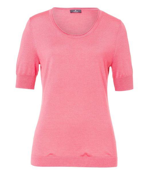 Basler | Pink Fine Knit T-shirt | Lyst