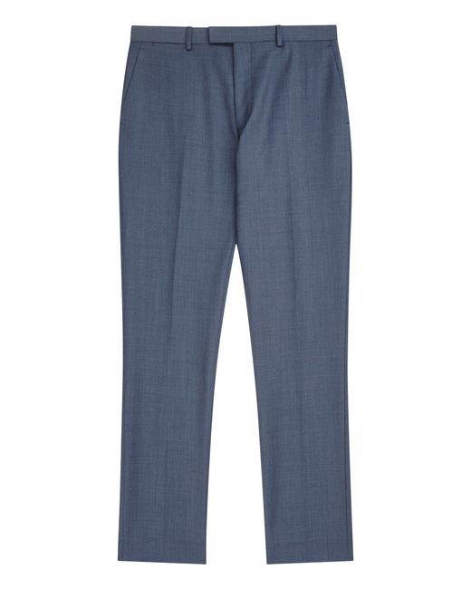 Reiss | Blue Harry Modern Fit Suit Trousers for Men | Lyst