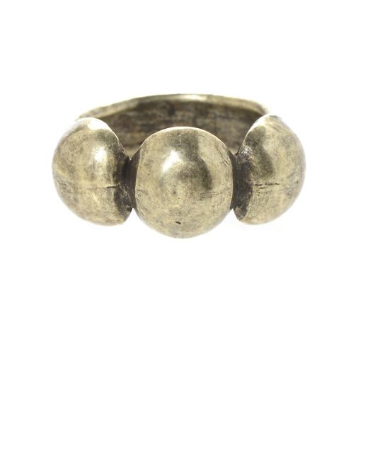 Jill Golden | Metallic Odeon Ring | Lyst