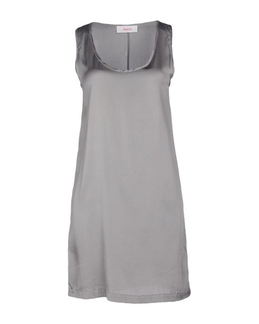Jucca | Gray Short Dress | Lyst