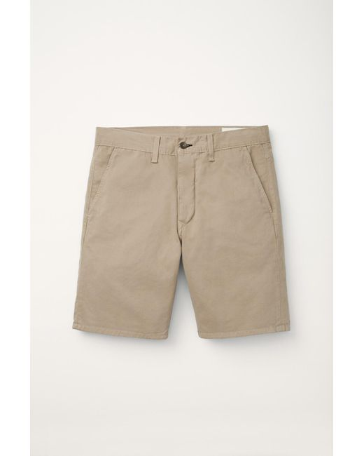 Rag & Bone | Natural Standard Issue Short for Men | Lyst