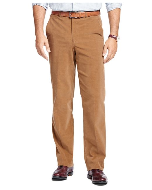 Brooks Brothers | Brown Madison Fit Corduroy Trousers for Men | Lyst