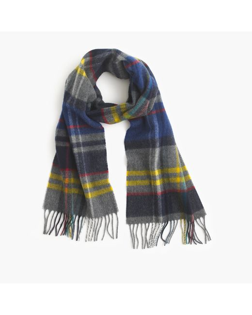 J.Crew | Multicolor Abraham Moon Wool Scarf for Men | Lyst