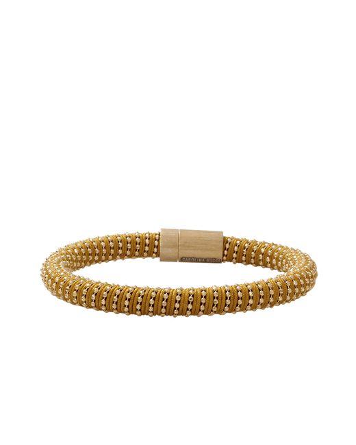 Carolina Bucci | Metallic Caramel Twister Band Bracelet | Lyst