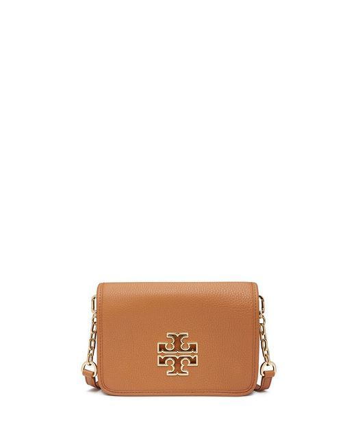 Tory Burch | Brown Britten Combo Cross-body | Lyst