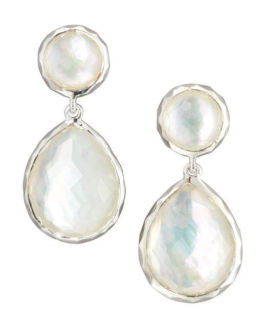 Ippolita | White Rock Candy Drop Earrings | Lyst