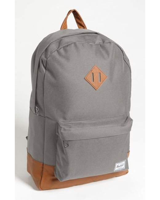 Herschel Supply Co. | Gray 'heritage' Backpack for Men | Lyst