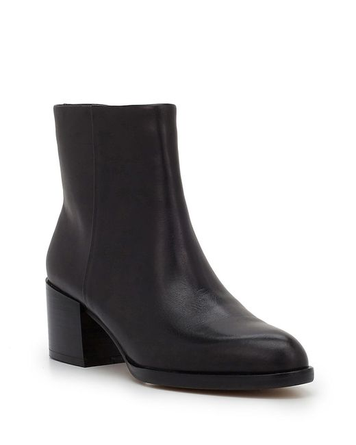 Sam Edelman | Black Joey Leather 55mm Ankle Boot | Lyst