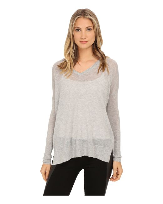 French Connection | Gray Feather Light Knits Sweater 78ecj | Lyst