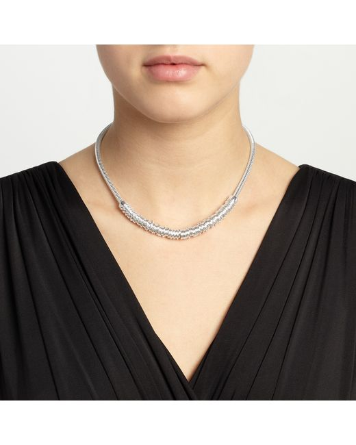 John Lewis | Metallic Split Stack Chain Necklace | Lyst