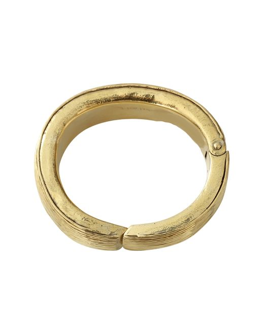 Vaubel | Metallic Multi-line Hinged Bangle | Lyst