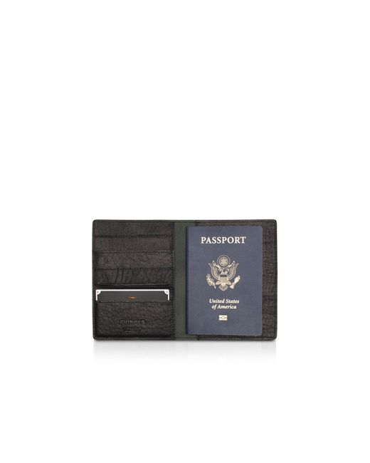 Shinola | Black Passport Wallet | Lyst