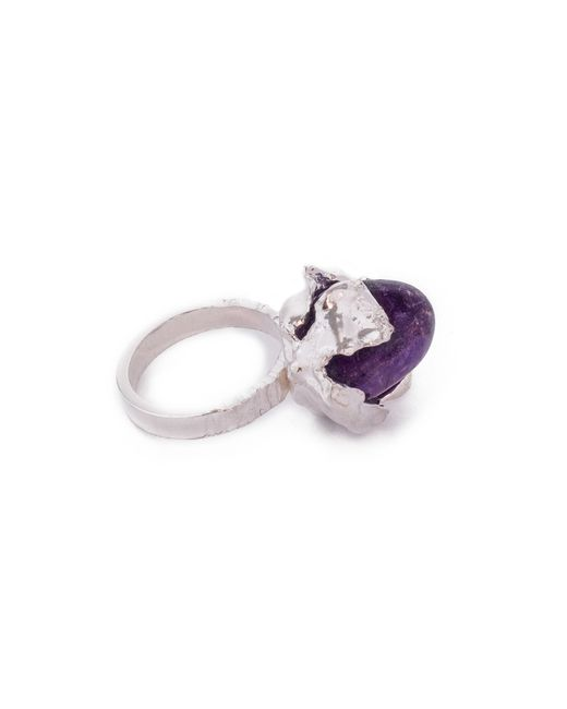 Pamela Love | Purple Flower Blossom Ring | Lyst