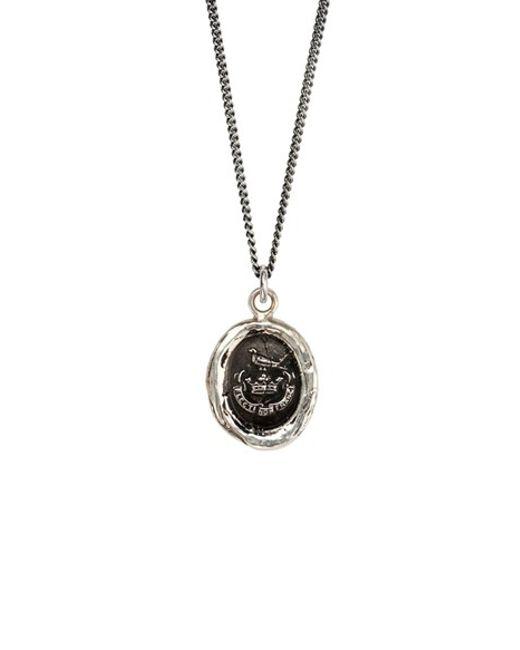 Pyrrha | Metallic 'unbreakable' Talisman Pendant Necklace | Lyst