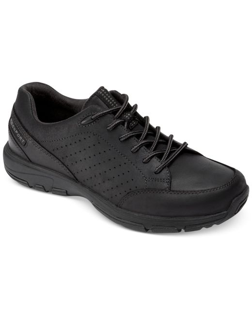 Rockport Xcs Make Your Path Lace Up Walking Shoes In Black