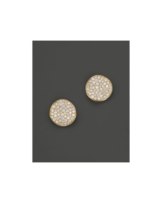 Ippolita | Metallic 18k Gold Stardust Studs With Diamonds | Lyst