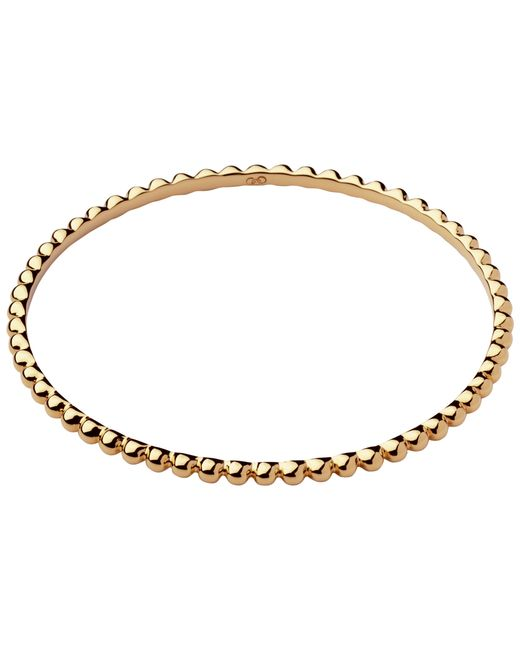 Links of London | Yellow Essentials 18ct Gold Vermeil Bangle | Lyst