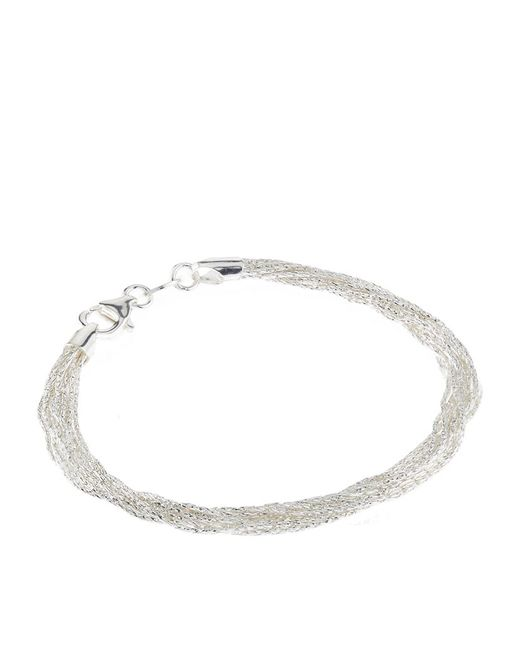 Links of London | Metallic Essentials Silk 10 Row Bracelet | Lyst